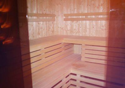 Sauna w hotelu Wichrowe Wzgórze