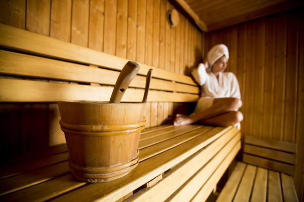 Odpoczynek w saunie
